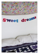 Sweet Dreams Felt Banner